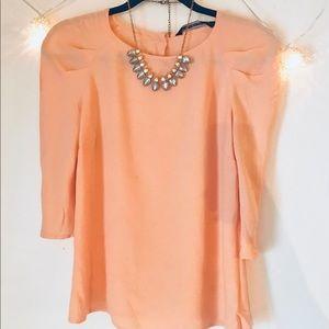 Zara Sleeved Blouse